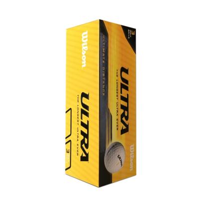 Wilson ULTRA Distance Golfball Gelb - 3er Pack