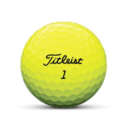 Titleist Tour Speed 2020 Golfball Gelb - 12er Pack