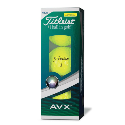 Titleist AVX 2018 Golfbälle Gelb - 3er Pack