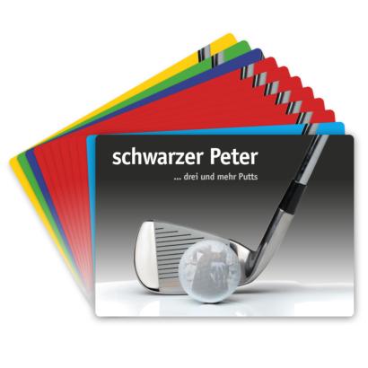 Golf Zocker Kartenspiel - Karten für den Golfzocker - Spaß auf dem Golfplatz
