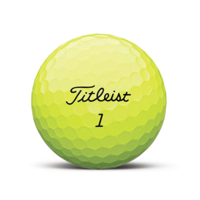 Titleist Pro V1 Golfball Gelb - individuell bedruckt