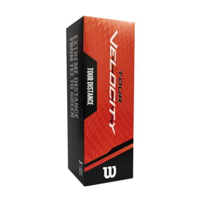 Wilson Tour Velocity Distance Golfbälle 3er Pack