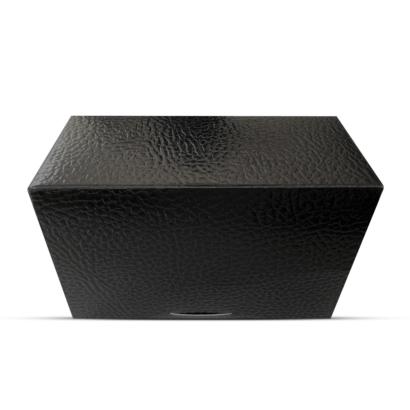 GE24 Geschenkbox Schwarz Gold für 1 - 3 Golfbälle