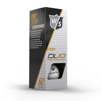 Wilson Staff DUO Professional Golfbälle 3er Pack