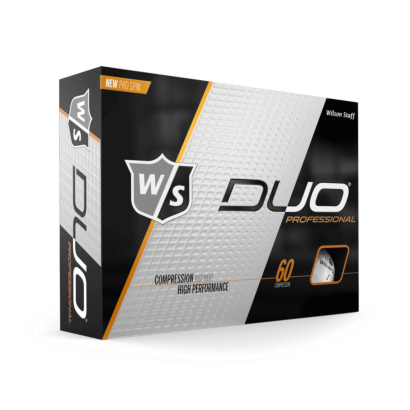 Wilson Staff DUO Professional Golfbälle 12er Pack