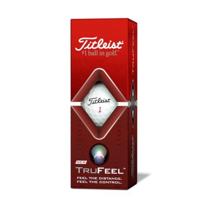 Titleist TruFeel Golfball - 3er Pack