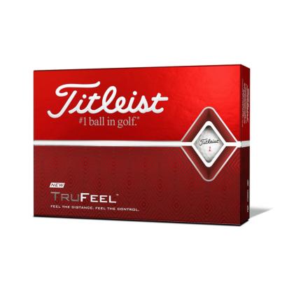 Titleist TruFeel Golfball - 12er Pack