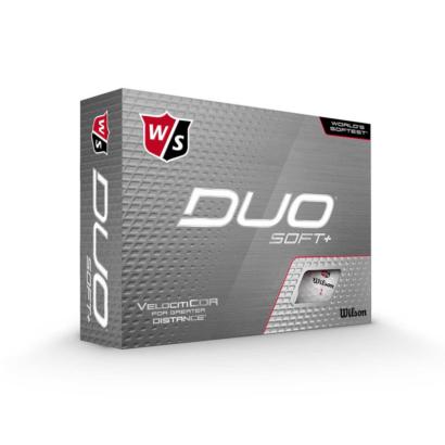 Wilson Staff DUO Soft+ Golfbälle - 12er Pack