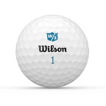 Wilson Staff DUO Soft+ Ladies Golfbälle - Individuell bedruckt
