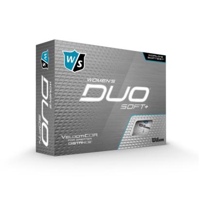 Wilson Staff DUO Soft+ Ladies Golfbälle - 12er Pack