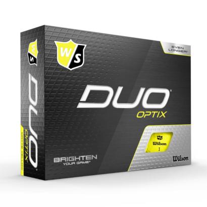 Wilson Staff Duo Optix Gelb 12er Pack