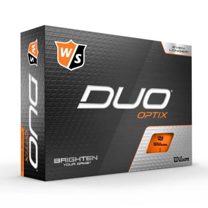 Wilson Staff Duo Optix Orange 12er Pack