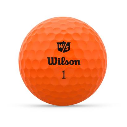 Wilson Staff Duo Optix Orange - Individuell Bedruckt