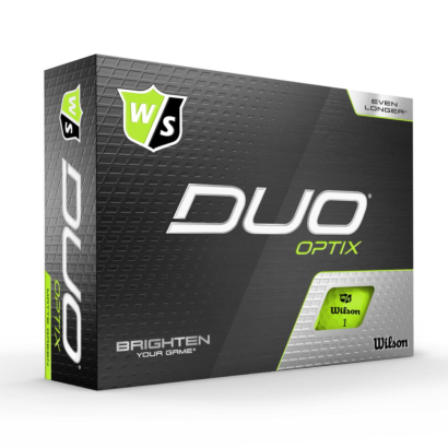 Wilson Staff Duo Optix Grün - 12er Pack