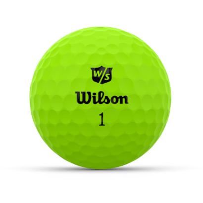 Wilson Staff Duo Optix Grün - Individuell Bedruckt