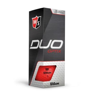 Wilson Staff Duo Optix Rot - 3er Pack
