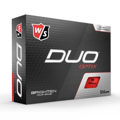 Wilson Staff Duo Optix Rot - 12er Pack