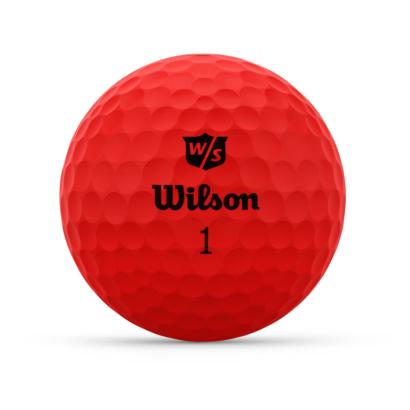 Wilson Staff Duo Optix Rot - Individuell Bedruckt