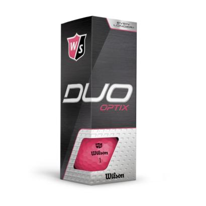 Wilson Staff Duo Optix Pink - 3er Pack