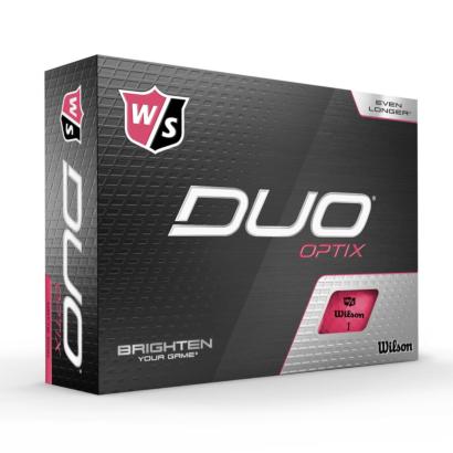 Wilson Staff Duo Optix Pink - 12er Pack