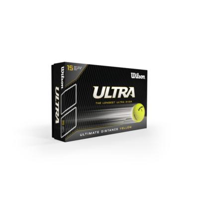 Wilson ULTRA Distance Golfball Gelb - 15er Pack