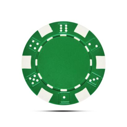 Pokerchip Dice Ballmarker Individuell Bedruckt Grün