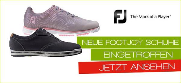 Neue FootJoy Schuhe eingetroffen