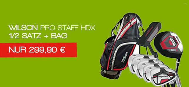 Wilson Pro Staff HDX Combo Herren Satz